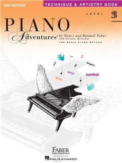 Faber Piano Adventures: Level 2B - Technique And Artistry Book (2nd Edition) Books | Piano