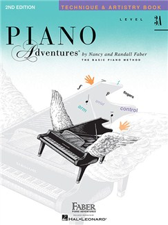 Piano Adventures: Level 3A - Technique & Artistry Book (1st Edition) Books | Piano