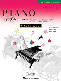 Faber Piano Adventures: Level 1 - Christmas Book Books | Piano
