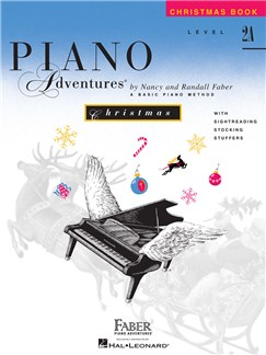 Piano Adventures: Level 2A - Christmas Book Books | Piano