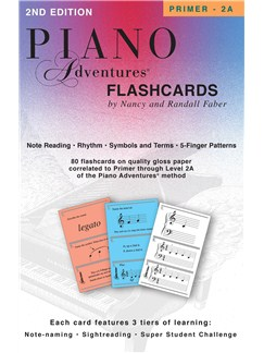 Piano Adventures: Flashcards In-a-Box  | Piano