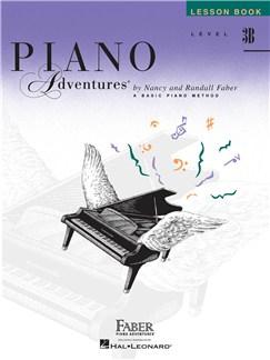 Faber Piano Adventures: Level 3B - Lesson Book Books | Piano