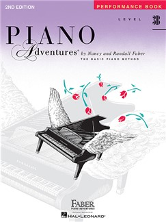 Piano Adventures: Level 3B - Performance Book (Second Edition) Books | Piano