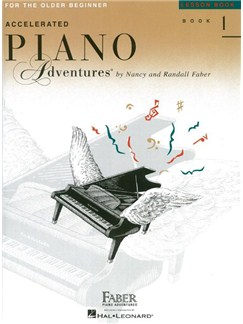 Faber Piano Adventures: Accelerated Piano Adventures for the Older Beginner - Lesson Book 1 Books | Piano