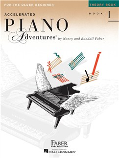 Accelerated Piano Adventures for the Older Beginner - Theory Book 1 Books | Piano