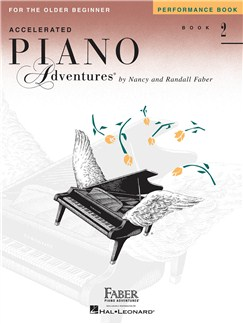 Accelerated Piano Adventures for the Older Beginner - Performance Book 2 Books | Piano