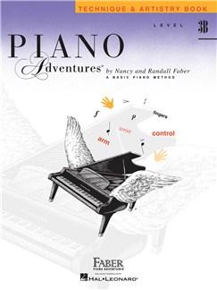 Piano Adventures: Level 3B - Technique & Artistry Book Books | Piano