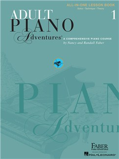 Faber Piano Adventures: Adult Piano Adventures All-in-One - Lesson Book 1 Books | Piano