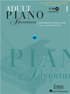 Faber Piano Adventures: Adult Piano Adventures All-in-One Lesson - Book 1 Books | Piano