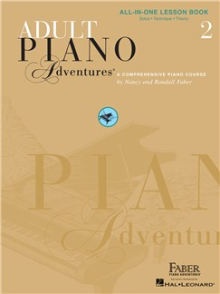 Adult Piano Adventures: All-in-One Lesson Book 2 Books | Piano