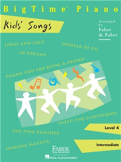BigTime Piano: Kids' Songs Books | Piano