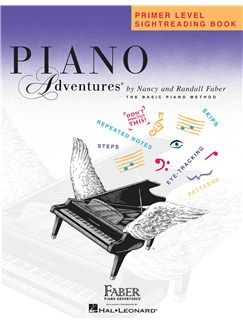 Piano Adventures: Primer Level - Sightreading Book Books | Piano