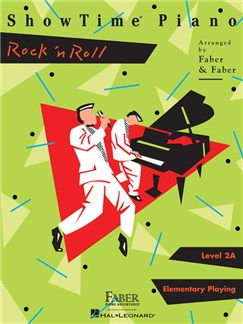 Piano Adventures: Level 2A - ShowTime Piano Rock 'n Roll Books | Piano