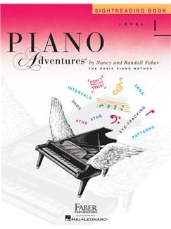Piano Adventures: Sightreading Book - Level 1 Books | Piano