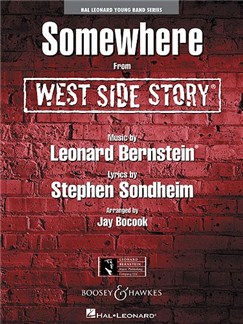 Leonard Bernstein: Somewhere (From West Side Story) (Arr. Bocook) (Score And Parts) Books | Big Band & Concert Band