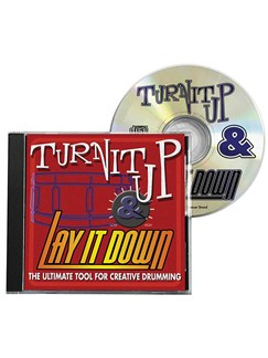 Turn It Up And Lay It Down - Volume 1 CDs | Drums
