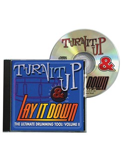 Turn It Up And Lay It Down - Volume 2 CDs | Drums