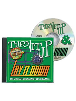 Turn It Up And Lay It Down - Rock-It Science (Volume 3) CDs | Drums