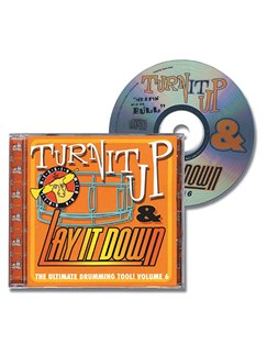Turn It Up And Lay It Down - Messin' Wid Da Bull (Volume 6) CDs | Drums