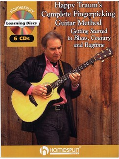 Happy Traum's Complete Fingerpicking Guitar Method Books and CDs | Guitar