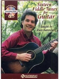 Russ Barenberg: Sixteen Fiddle Tunes For Guitar Books and CDs   Guitar