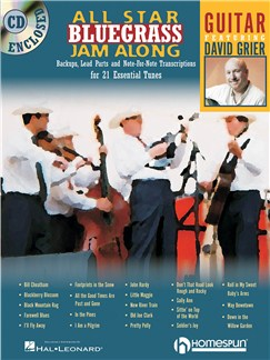 All Star Bluegrass Jam Along - Guitar Books and CDs | Guitar Tab