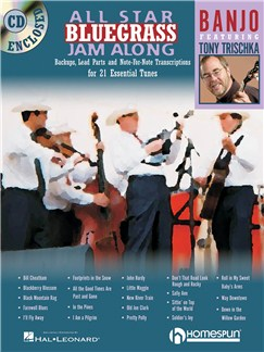 All Star Bluegrass Jam Along - Banjo Books and CDs | Banjo