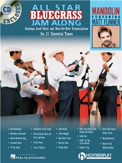 All Star Bluegrass Jam Along - Mandolin Books and CDs | Mandolin