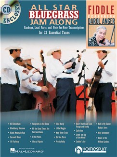 All Star Bluegrass Jam Along - Fiddle Books and CDs | Violin