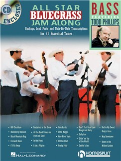 All Star Bluegrass Jam Along - Bass Books and CDs | Double Bass