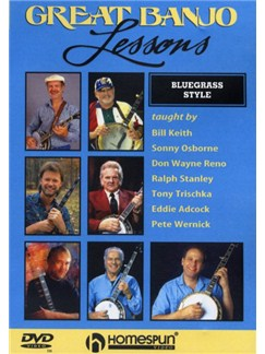 Great Banjo Lessons - Bluegrass Style DVDs / Videos | Banjo