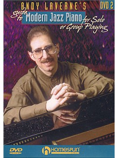 Andy LaVerne's Guide To Modern Jazz Piano - Volume 2 (DVD) DVDs / Videos | Piano