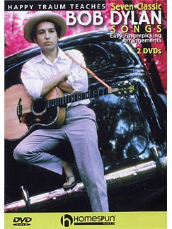 Happy Traum Teaches Seven Classic Bob Dylan Songs (2 DVD Set) DVDs / Videos | Guitar
