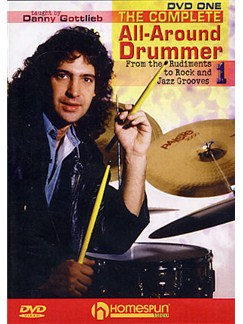 Danny Gottlieb: The Complete All-Around Drummer - DVD 1 DVDs / Videos | Drums