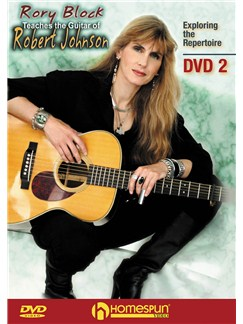 Rory Block Teaches The Guitar Of Robert Johnson - DVD 2 DVDs / Videos | Guitar