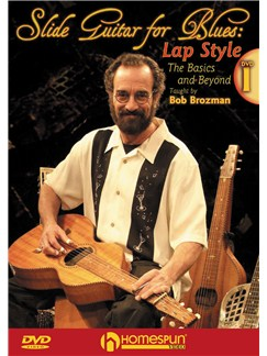 Bob Brozman: Slide Guitar For Blues - Lap Style (Volume 1) DVDs / Videos | Guitar, Guitar Tab