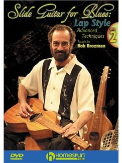 Bob Brozman: Slide Guitar For Blues - Lap Style (Volume 2) DVDs / Videos | Guitar
