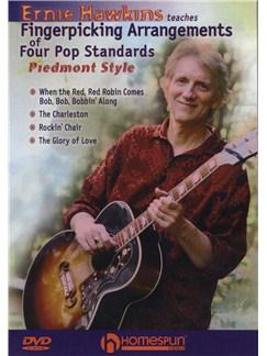 Ernie Hawkins: Fingerpicking Arrangements Of Four Popular Standards - Piedmont Style DVDs / Videos | Guitar