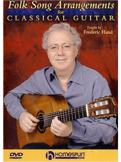 Folk Song Arrangements For Classical Guitar DVDs / Videos | Guitar, Classical Guitar