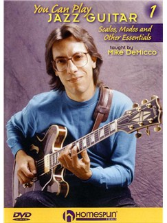 You Can Play Jazz Guitar - Volume One DVDs / Videos | Guitar