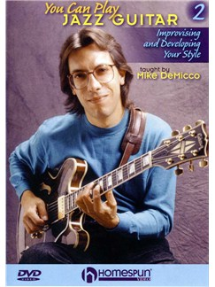 You Can Play Jazz Guitar - Volume Two DVDs / Videos | Guitar