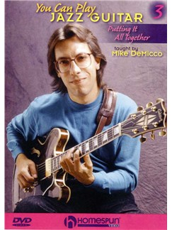 You Can Play Jazz Guitar - Volume Three DVDs / Videos | Guitar