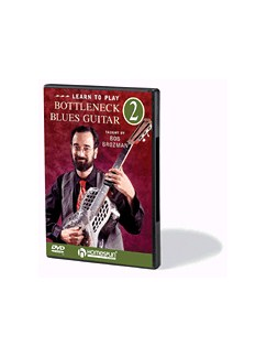 Learn To Play Bottleneck Blues Guitar: Volume 2 (DVD) DVDs / Videos | Guitar