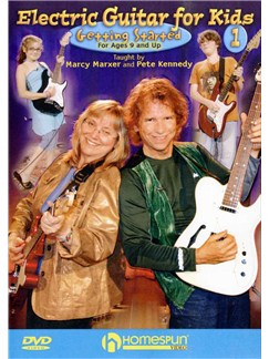Electric Guitar For Kids: Volume One - Getting Started (DVD) DVDs / Videos | Electric Guitar