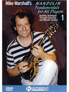 Mike Marshall's Mandolin Fundamentals For All Players 1 (DVD) DVDs / Videos | Mandolin