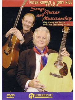Peter Rowan And Tony Rice Teach Songs Guitar And Musicianship (DVD) DVDs / Videos | Guitar