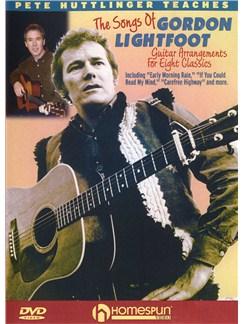 Pete Huttlinger Teaches The Songs Of Gordon Lightfoot (DVD) DVDs / Videos | Guitar