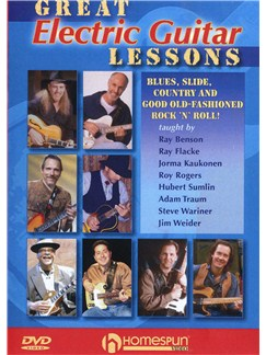 Great Electric Guitar Lessons (DVD) DVDs / Videos | Electric Guitar