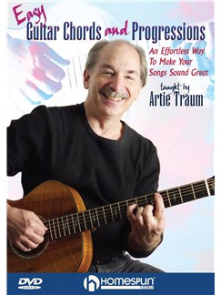 Easy Guitar Chords And Progressions Taught By Artie Traum DVDs / Videos | Guitar