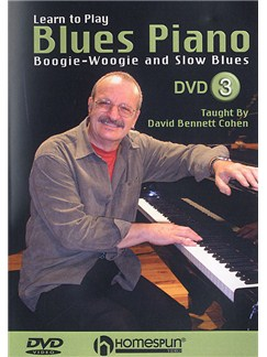 Learn To Play Blues Piano: Boogie Woogie And Slow Blues 3 (DVD) DVDs / Videos | Piano